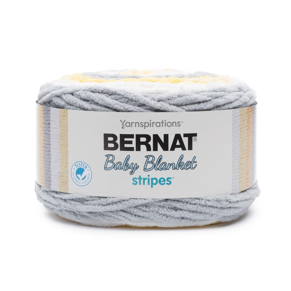 Bernat Baby Blanket Stripes 300g Sunshine