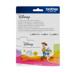 ScanNCut Disney Card No5 - Toy Story Home-Deco Pattern Collection X 33 Designs