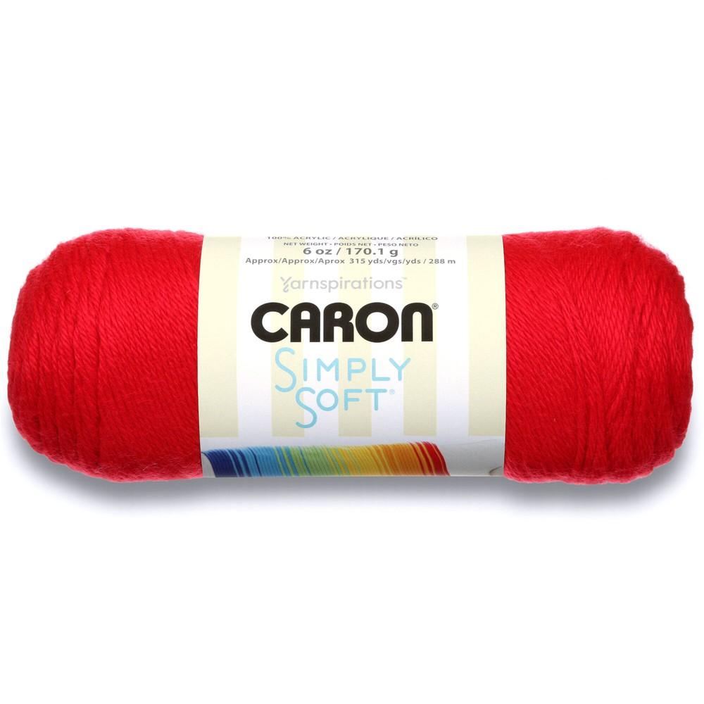 Caron Simply Soft 170g Red