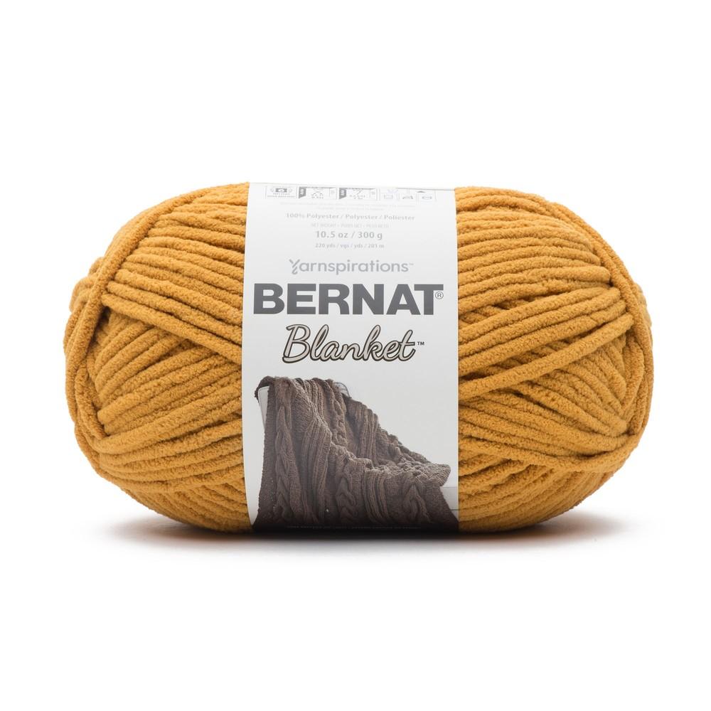 Bernat Blanket 300g Burnt Mustard
