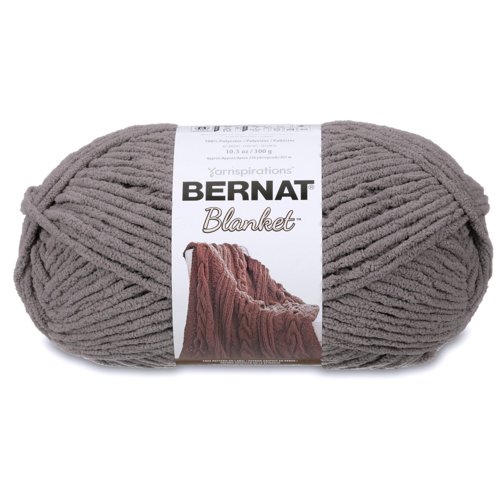 Bernat Blanket 300g Dark Grey